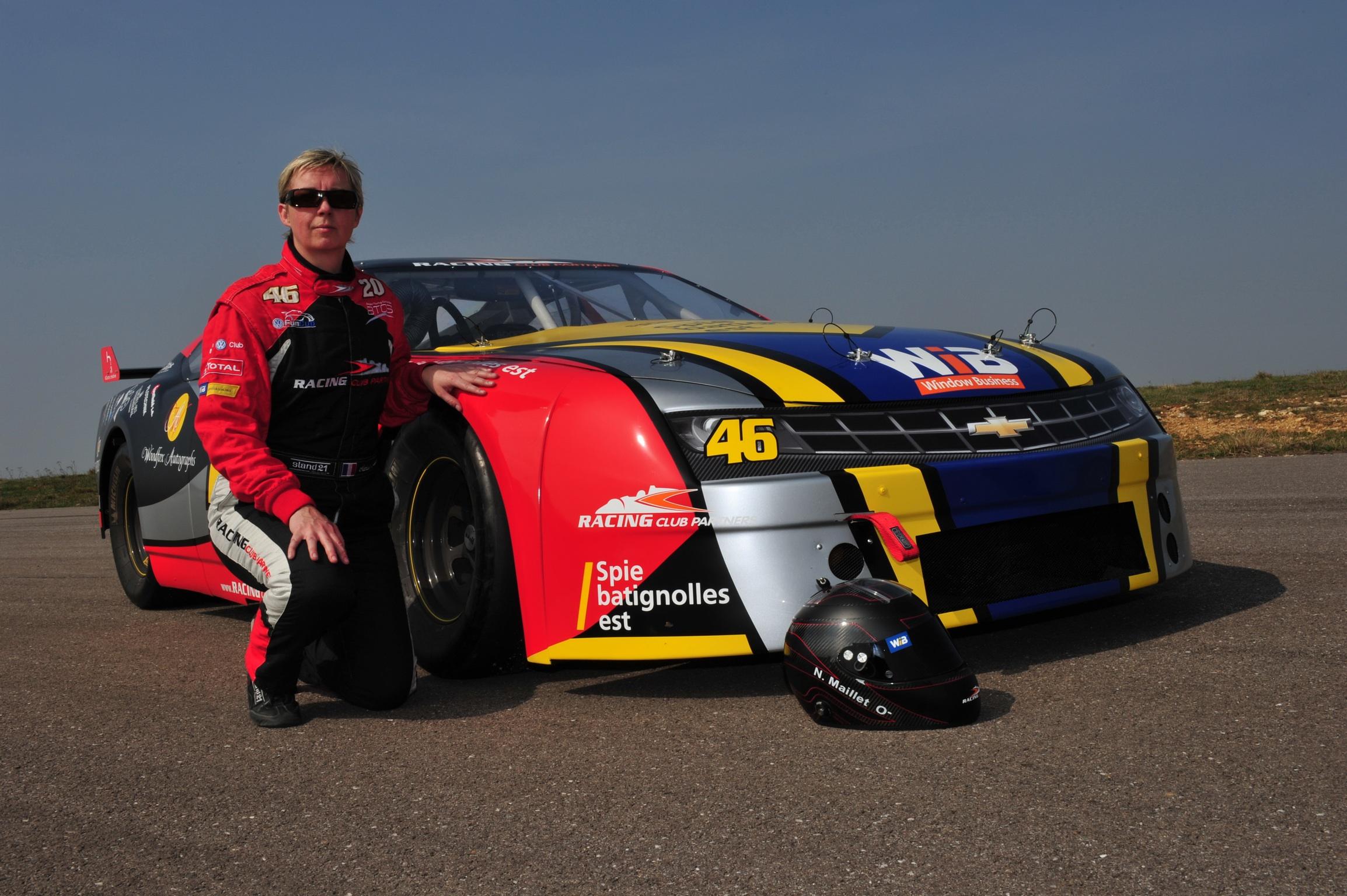 Nathalie Maillet Pilote NASCAR V8